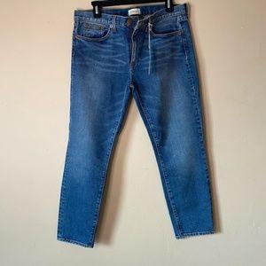 Crippen Slim Straight Jeans in Worn